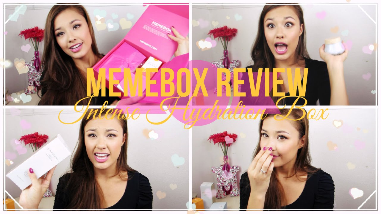 Download Memebox Review: Intense Hydration Box #ThirstySkin Korean Skincare Products