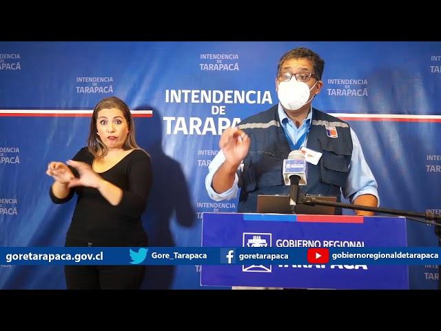 Punto de prensa 09 de abril de 2021 - GORE Tarapacá