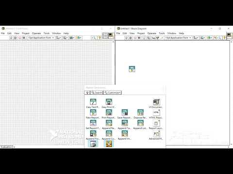[LabVIEW] Generate Report: Print To HTML 用HTML的格式產生報告