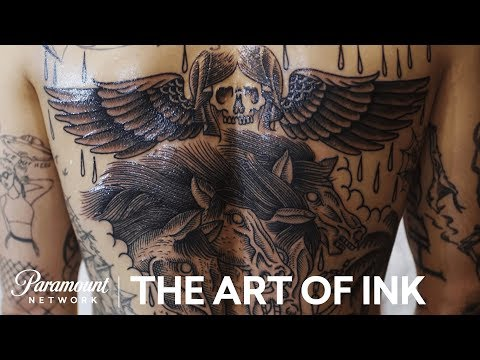 'Etching Tattoos' The Art of Ink (Season 2) Digital Exclusive | Paramount Network
