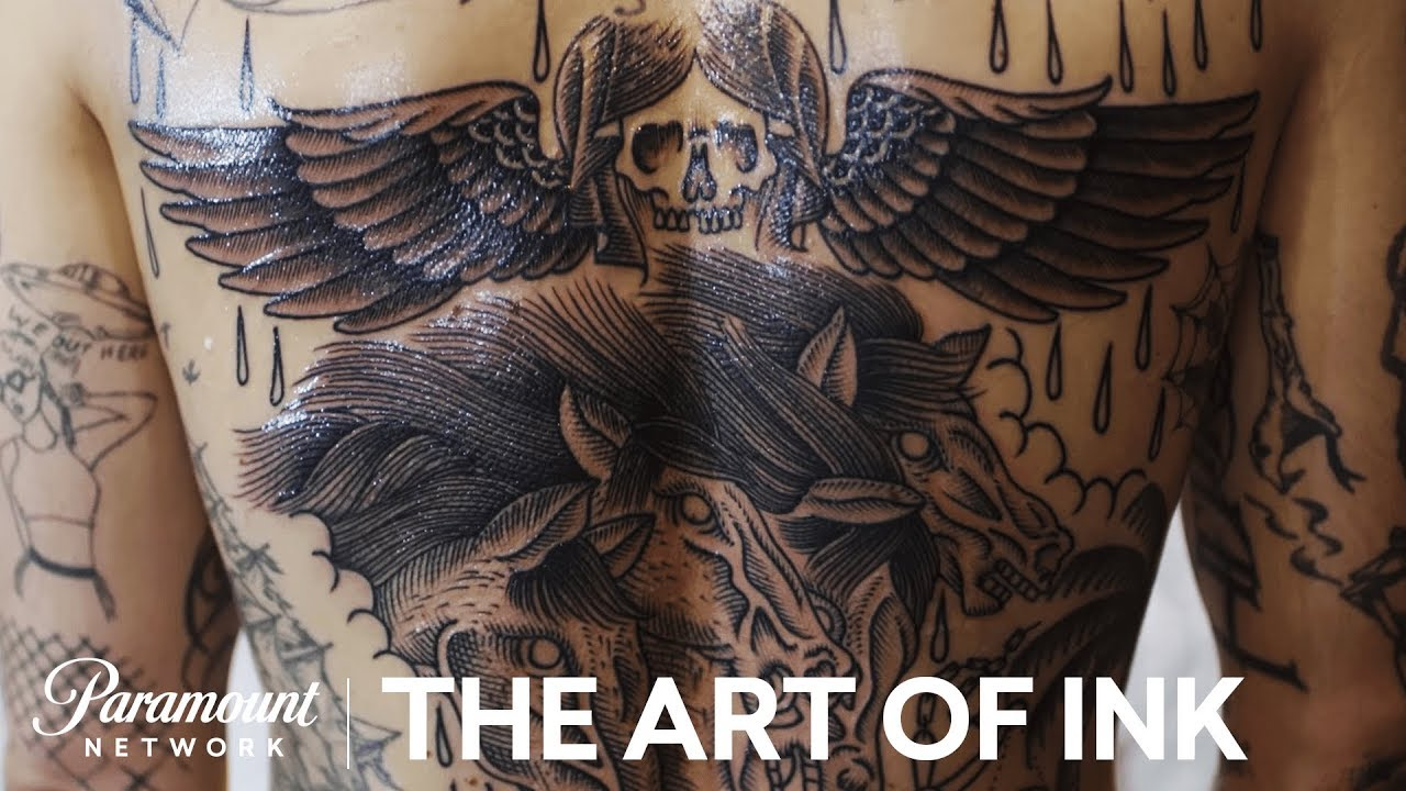 Tattoo Machien Etch Drawing: 'Etching Tattoos' The Art Of Ink (Season 2) Digital