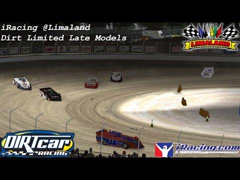 iRacing Dirt Limited Late Models at Limaland Motorsports Park