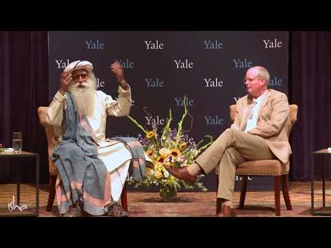 Sadhguru with Yale medical college Professor. In conversation with mystic. Part-1
