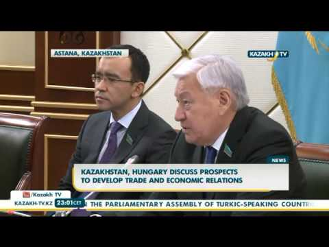 Kazakhstan, Hungary discuss prospects to develop trade and economic relations - Kazakh TV