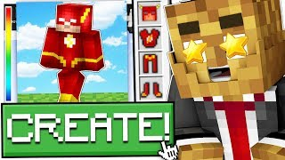 *UPDATE* NEW BATMAN SUIT AND GADGETS IN MINECRAFT - MINECRAFT MODDED SUPERHERO CREATOR