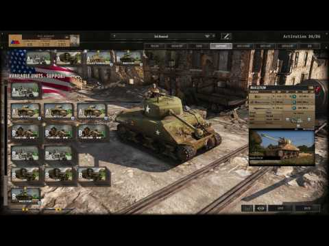Steel Divison Deck Building: 3rd Armored