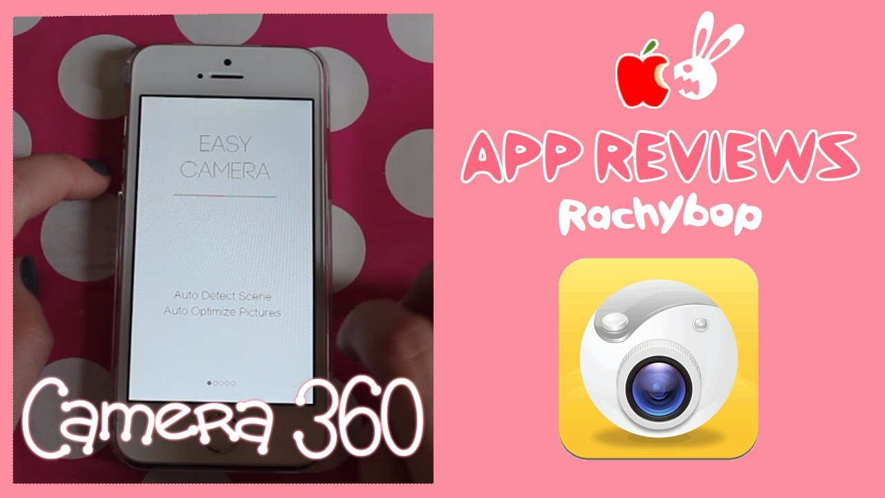 Camera 360 App Review [Whats App Wednesday] | Rachybop
