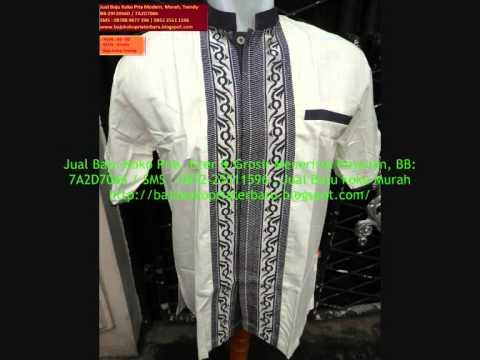 Jual Baju Koko Pria Modern Ekslusif Murah BB7A2D7066 SMS 0852 2551 1596