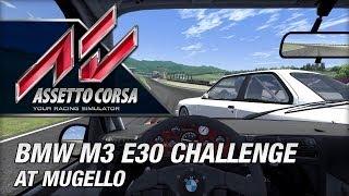 Assetto Corsa Early Access - BMW M3 E30 Challenge at Mugello
