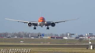 klm-arrivals-schiphol,-klm-fleet-landing-amsterdam,-klm-airplane-boeing-777-ph-bva