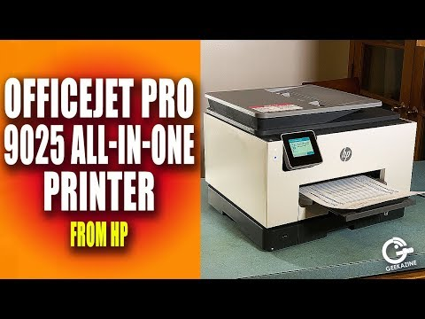 HP OfficeJet Pro 9025 All-in-One Printer Review