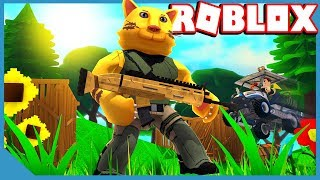 #1 Victory Royale dans Roblox Fortnite Simulator