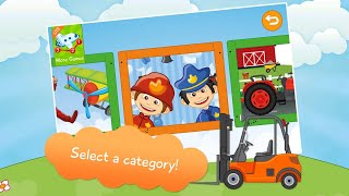 "Kids Vehicle Connect the Dots ""Educational Apps For Toddlers & Preschoolers""Android Apps Game Video"