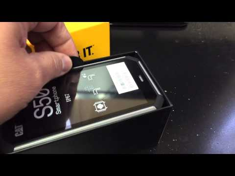 CATERPILLAR CAT S50 RUGGED IP67 Unboxing Video – in Stock at www.welectronics.com