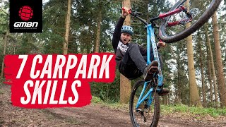 7 Carpark Skills To Practise On Your Mountain Bike | MTB Skills