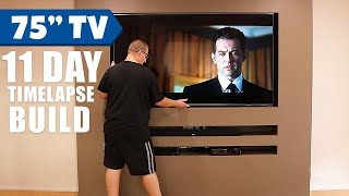 149 Perfect TV Wall Ideas That Will not Sacrifice Your Look 1