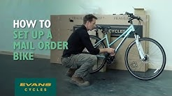 How to set up your bike when it arrives by mail order