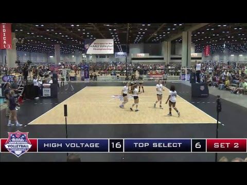 June 17 2017: Court 42 AAU Volleyball Nationals