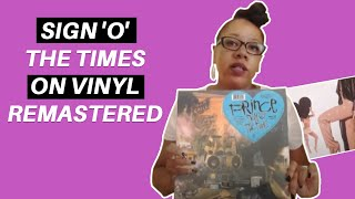 Sign 'O' The Times on Vinyl Remastered
