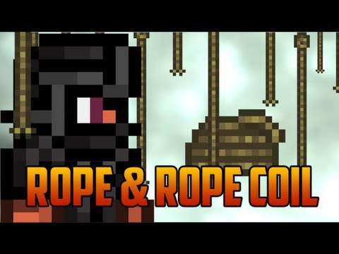 Terraria 1.2 - Rope & Rope Coil, [Be a better Ninja part I]