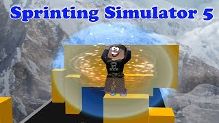 ROBLOX Sprinting Simulator 5 Run Fast