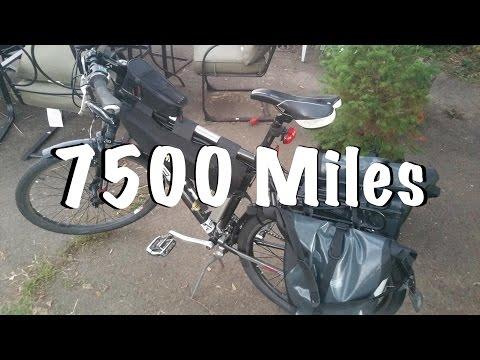 DIY Ebike: 7500 Mile Update (car replacement vehicle)