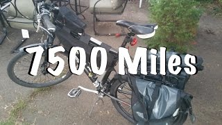 DIY Ebike: 7500 Mile Update (car replacement vehicle)