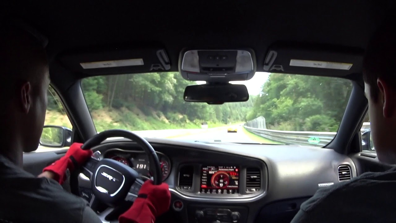 Dodge Charger Hellcat takes on Mercedes AMG GT & Porsches on Nurburgring!