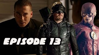 Flash Arrow Crossover And TRUE Villain Revealed Arrow Season 6 Episode 13 Review