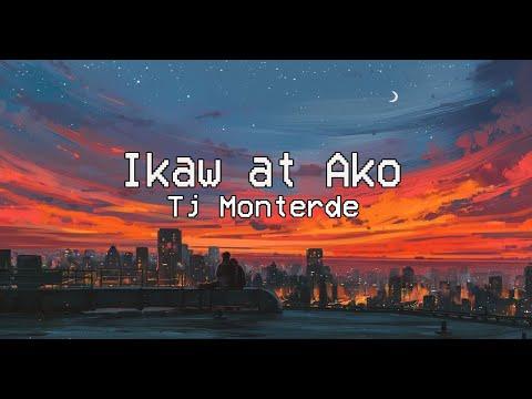 Ikaw at Ako - TJ Monterde (Lyric Video)