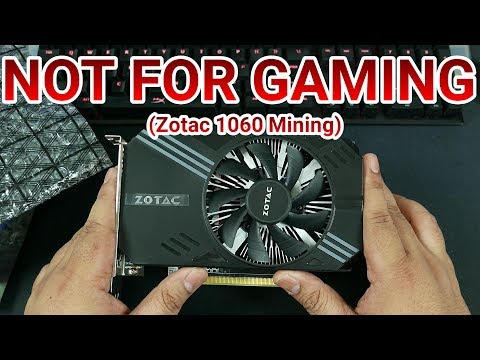 IT DOESN'T RUN CRYSIS - Zotac GTX 1060 (P106-100) Mining-Only Graphics Card Unboxing & Benchmarks