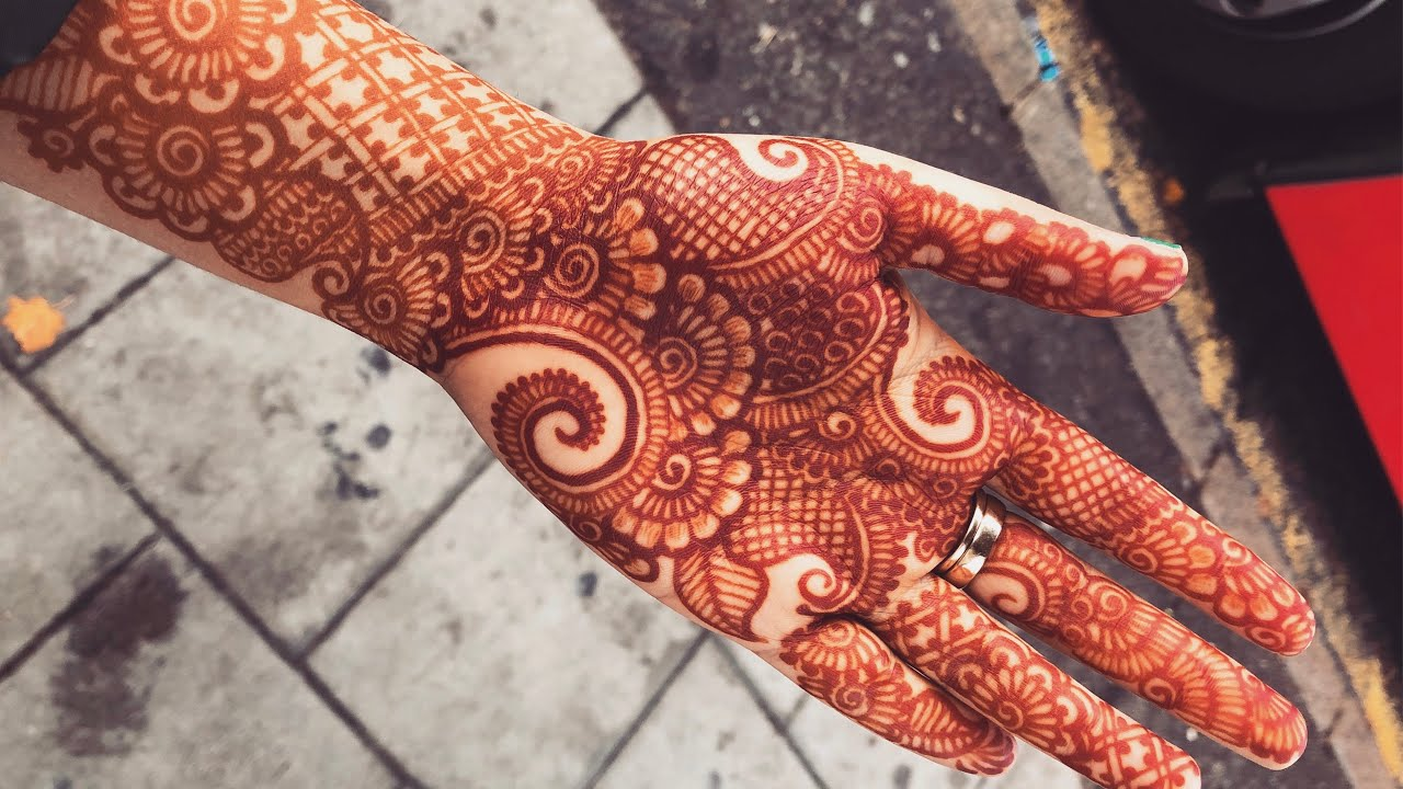 Beautiful Bridal Henna Mehndi Design For Hands Indo Arabic For Weddings Eid 2019