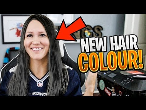I DYED MY HAIR FOR THE FIRST TIME (My Reaction)