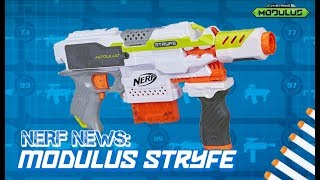 NERF NEWS: 2018 Modulus Stryfe with Attachments! The Return of the Stryfe?