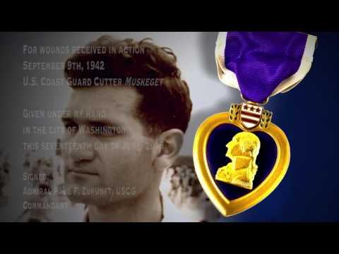 Weathermen at War: USCGC MUSKEGET Posthumous Purple Heart Ceremony