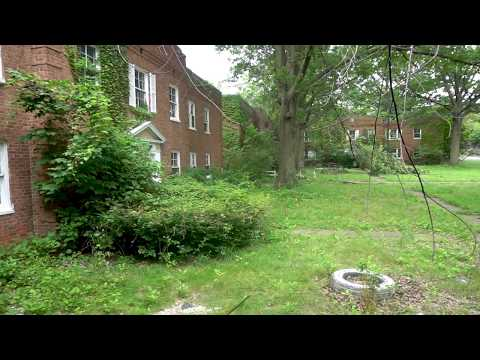 Abandoned Apartment Buildings in East Cleveland