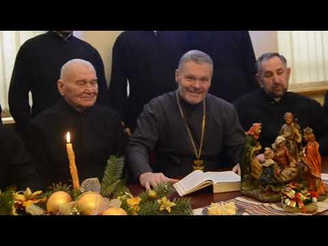 Вітальна колядка від священиків Храму Різдва Пресвятої Богородиці (Львів-Сихів, 2020)
