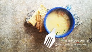 VEGAN HEARTY CREAMY POTATO & VEGGIE SOUP BACKPACKING  HIKING - PREPPERS     Connie's RAWsome kitchen