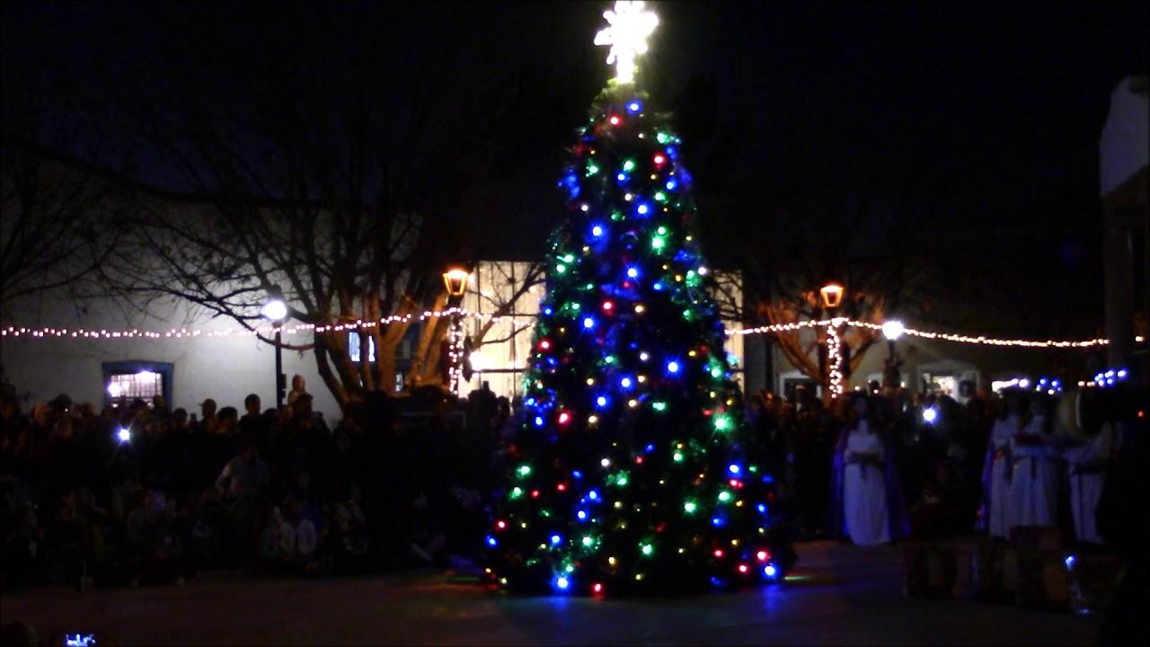 Mesilla Christmas Tree Lighting 2020 Christmas Tree Lighting at Old Mesilla 2019   YouTube