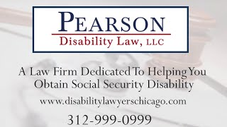Pearson Disability Law, LLC Video - Should I Hire a Disability Lawyer?