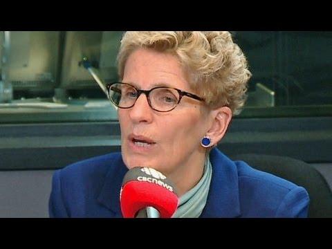 FULL INTERVIEW: Ontario Premier Kathleen Wynne on Metro Morning
