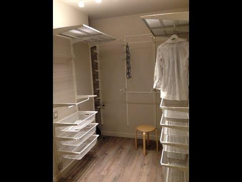 гардеробная система альгот икеа сборка