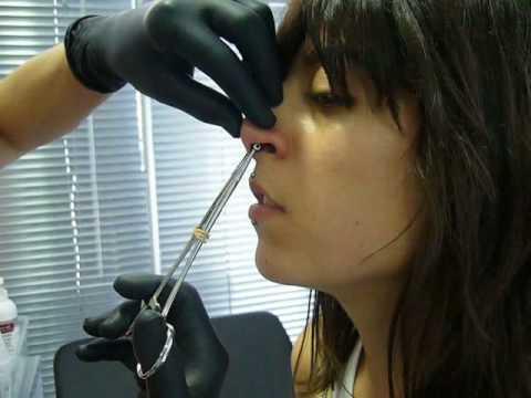 Acero Y Piel Piercing Septum A Carmen Youtube