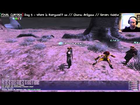FFXI: Final Curtain Project - Arilyssa: Day 5 - Where is everyone?!