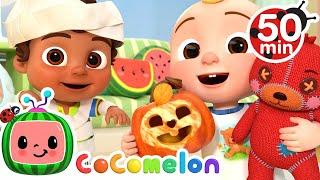 Фото Halloween Dress Up Song + More Nursery Rhymes \u0026 Kids Songs - CoComelon