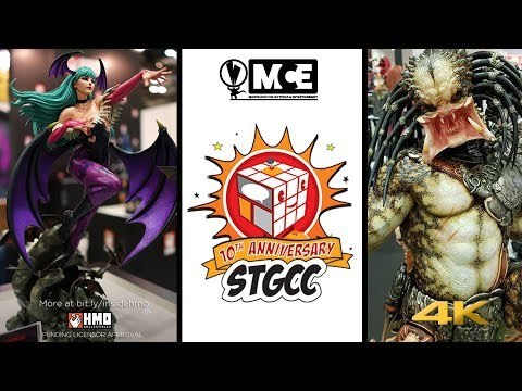 MCE Collecting News Episode 25 - LIVE CHAT,  STGCC 2017 Singapore Toy Game and Comic Convention