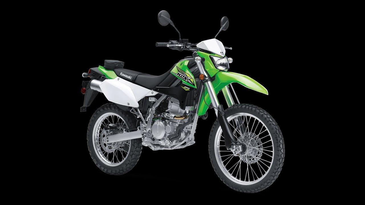2018 Kawasaki KLX250  Specs & Features - YouTube