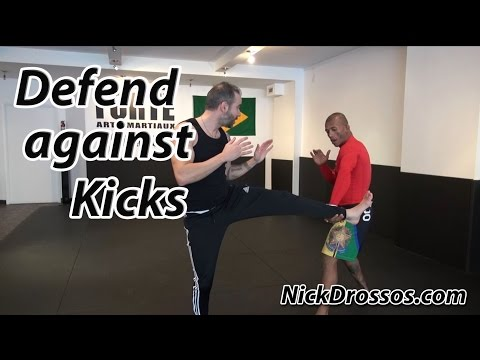 How to Defend against Kicks