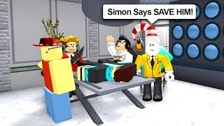 SIMON SAYS IN ROBLOX MURDER MYSTERY