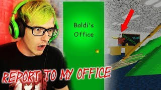BALDI SENT US TO HIS OFFICE?! | Baldis Basics In Education And Learning (Alternate Ending Secret) thumbnail